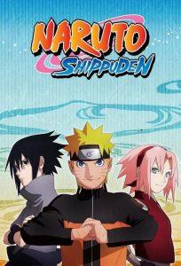 Naruto Shippuden นารูโตะ ตำนานวายุสลาตัน ภาค 1-25 (ตอนที่ 1-500)