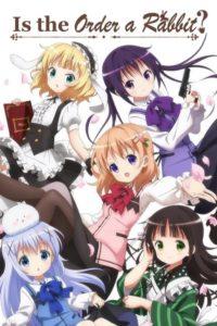 ดูหนังการ์ตูน Gochuumon wa Usagi Desu ka รับน้องกระต่ายซักแก้วมั้ยคะ ตอนที่ 1-12 พากย์ไทย