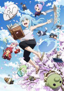 ดูหนังการ์ตูน Tensura Nikki Tensei shitara Slime Datta Ken ตอนที่ 1-12 ซับไทย