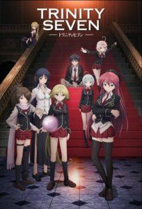 ดูหนังการ์ตูน Trinity Seven ทรินิตี้เซเว่น 7 จ้าวคัมภีร์เวท ตอนที่ 1-12+OVA ซับไทย